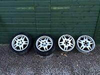 """Subaru Impreza 16"""" OEM alloy wheels"""