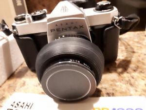 New Price- Pentex SP 1000 35 MM Camera + many accessories !
