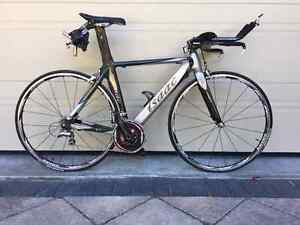 Carbon Tri/TT Road Bike Mint Condition Zwift-Ready (ANT+ Power)