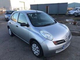Nissan micra E 1.0, Female Owned, Ideal First Car, 12 Month Mot, 3 Month Warranty