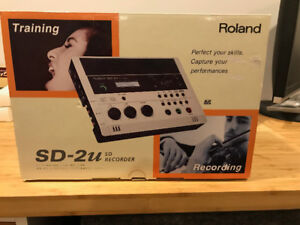 Roland SD-2u  Recorder / Trainer