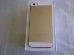 apple iphone 5s, 16gb, gold, wind/mobilicity, unlocked, mint