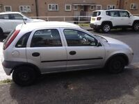Vauxhall corsa 2001 silver 1.2 5 doors.59900 k.very low mileage.