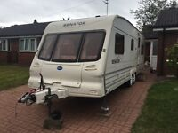 Bailey 2002 23ft twin axle 5/6 berth