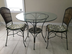 Rustic Table & Chair Set