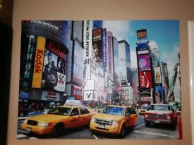 NY print canvas