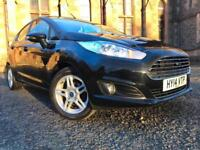*12 MTHS WARRANTY*2014(14)FORD FIESTA 1.0 ECO BOOST 5DR WITH ZERO TAX*ONLY 47K*
