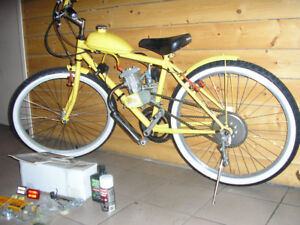 Motorized Bicycle (brand new ready-to-run)