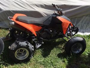 Racing quad tires and rims