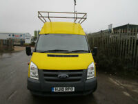 2010 FORD TRANSIT T350 2.4 TDCI 115 BHP 6 SPEED HIGH ROOF EXTRA LONG XLWB JUMBO