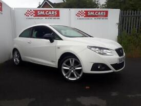 2011 61 SEAT IBIZA 1.4 16V SPORT SE COPA 3DOOR.FANTASTIC VALUE.FINANCE AVAILABLE