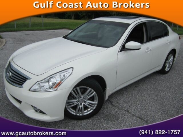 Infiniti : Other 4dr Journey 2012 infiniti g 37 journey leather camera sunroof only 22 k miles brand new codnit