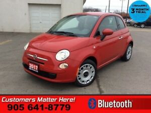2017 Fiat 500 Pop  LEATHER  BLUETOOTH POWER GROUP