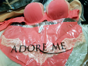 New Admore Me Bra and Panty set