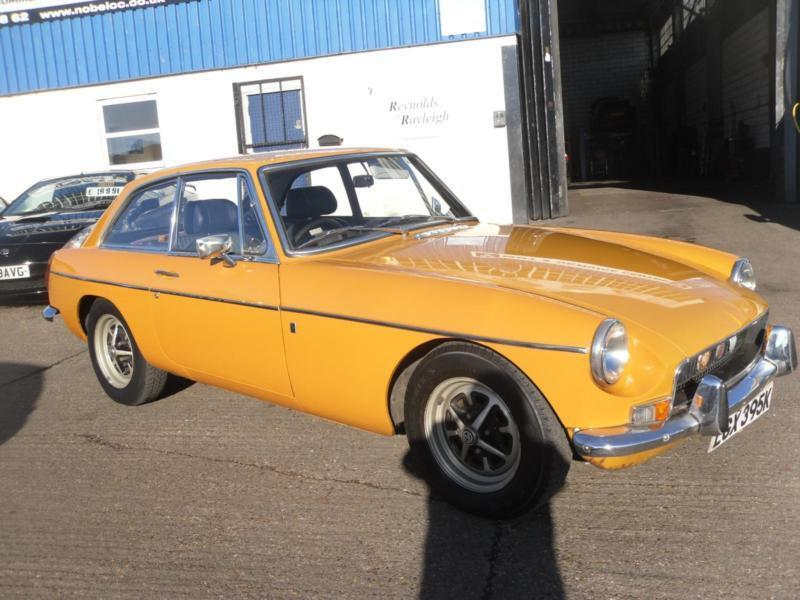 1972 K reg MGB GT 1 OWNER FROM NEW WITH FULL SERVICE HISTORY