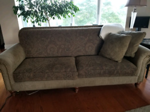 Couch/sofa and loveseat - excellent condition - reduced