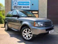 2008 RANGE ROVER SPORT 2.7TD V6 AUTO, SAT NAV, HEATED LEATHER, CRUISE CONTROL