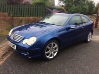 (53) MERCEDES C180 SE AUTO, MOT FEB, NOT A3 GOLF 1 SERIES 3 SERIES