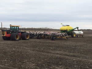 2014 Seedmaster 5012 / 2006 Degelman Heavy Harrow 70ft.
