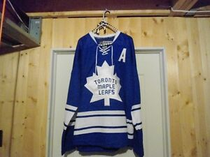 Price Drop Joffrey Lupul Reebok Home Jersey Size 50 with Issue`s