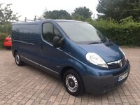 2007 Vauxhall Vivaro 2.0 CDTi 2900 LWB, 76,000 WARRANTED MILES, FULL SERVICE HISTORY, NO VAT!