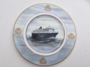 """10"""" Decorative Queen Mary 2 Plate Limited Edition 360 of 1000"""