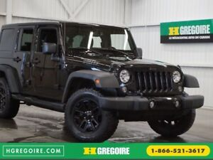 2015 Jeep Wrangler Unlimited Sport 4WD Editon Willys