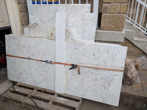 13 pieces of marble; perfect for counter-tops