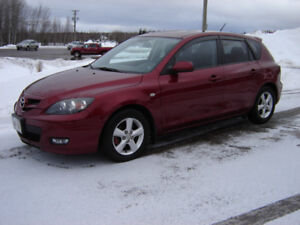 2008 MAZDA 3***ONLY 85000KM***NEW MVI***TWO SETS TIRES***