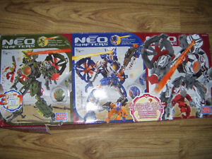 Neo Shifters Mega bloks set for sale
