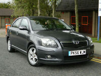2006 56 Toyota Avensis 2.0 D-4D T3-X 5dr WITH LONG MOT+1 PREV KEEPER ONLY