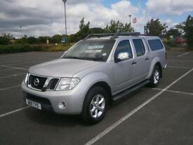 2011 11 NISSAN NAVARA 2.5 DCi TEKNA 4X4 DOUBLE CAB PICK UP TRUCK IN SILVER