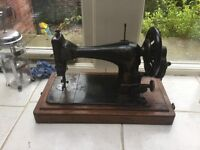 Vintage Shabby Chic Singer Sewing Machine 1892 123 Years Old Sale Today