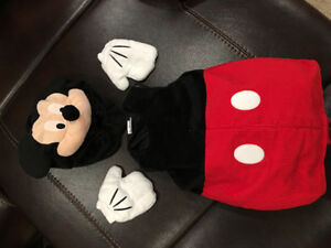 Worn once Disney Store Mickey Mouse costume