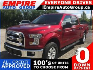 2017 FORD F-150 4WD * REAR CAM * BLUETOOTH * LOW KM
