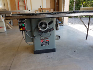 10 inch king industrial table saw