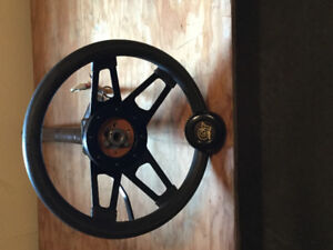 VW Bug Steering Wheel and column with key