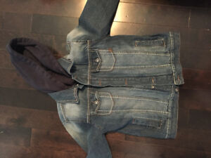 Boys' Jean Jacket - size 8 med Joe Fresh