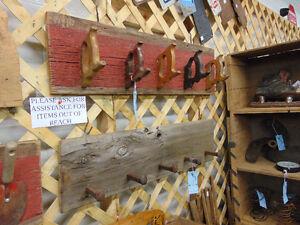 Barn Board Saw Handles Coat Rack London Ontario image 2