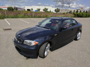 BMW 135I Manual with Extended Warranty and No Charge Maintenance