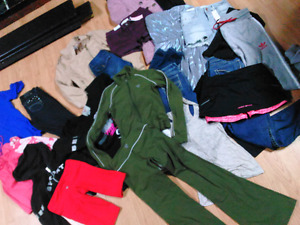 Clothing Lot (70 Pieces Brand Name) LULULEMON GUESS TNA ECT...