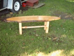 Pine  table  or bench
