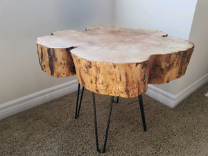 Live edge coffee/side table