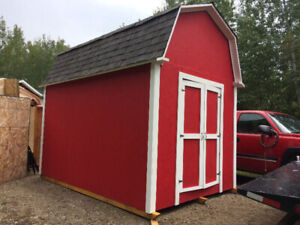 Barn style shed with loft (8x12) includes delivery $2700