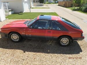 LAST YEAR OF THE MERCURY CAPRI RS