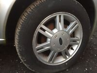 "13"" alloy wheels good tyres"