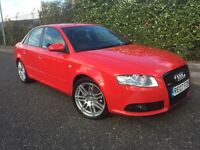 ***2007 AUDI A4 S-LINE SPECIAL EDITION 1 FORMER KEEPER*** £3799! *WARRANTIES*