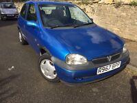 Vauxhall corsa 1.2 breeze,1195cc,