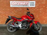 HONDA CB125F 2018 18 REG 842 MILES RED USED MOTORCYCLE 125CC