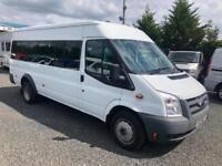 Ford TRANSIT only 47,000 miles NO VAT euro 4 115 T430 2011 11 Reg 17 seat RWD 20